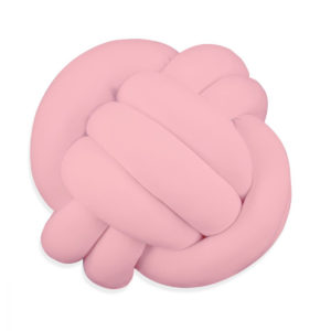 Almofada de nó rosa quartz